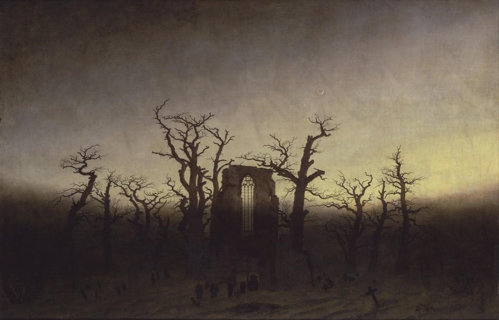 Caspar David Friedrich, Opactwo w dębowym lesie