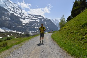 Running tripn under Jungfrau