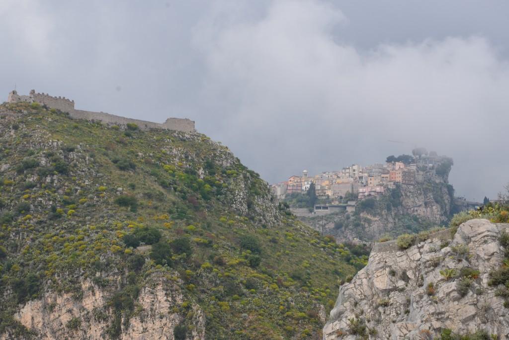 Castelo Saraceno and Castelmola