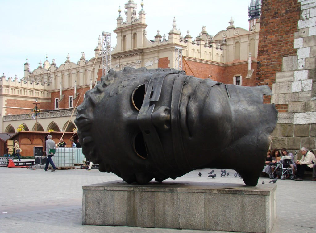 Eros Bendato on Market Square in Cracow