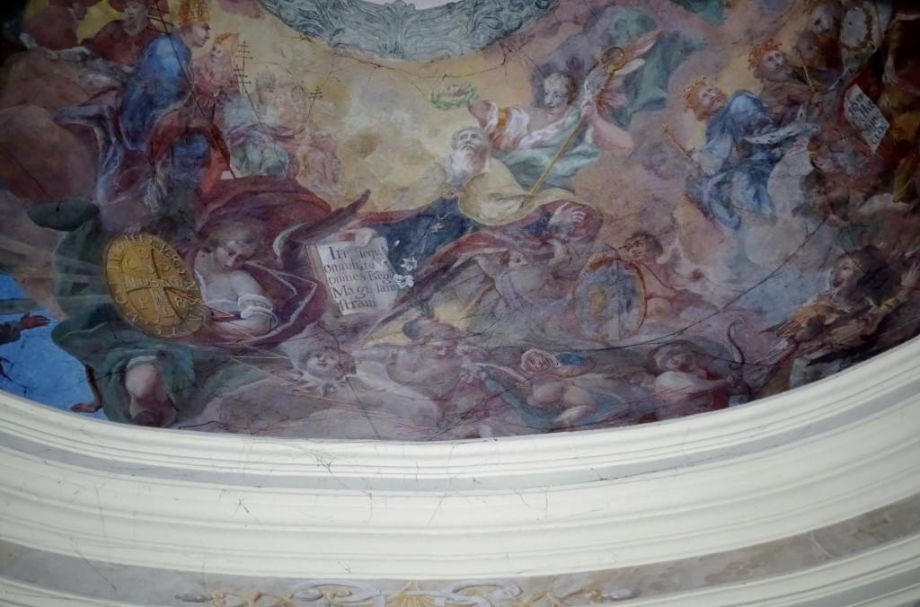 Sklepienie kaplicy św. Benedykta