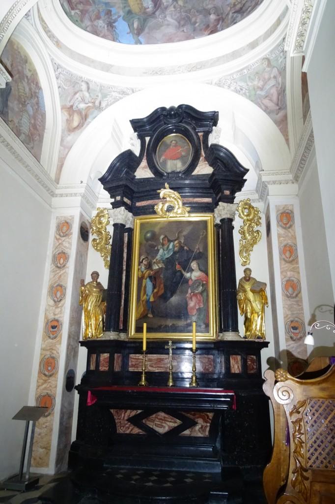 Św. Benedykt i alegorie