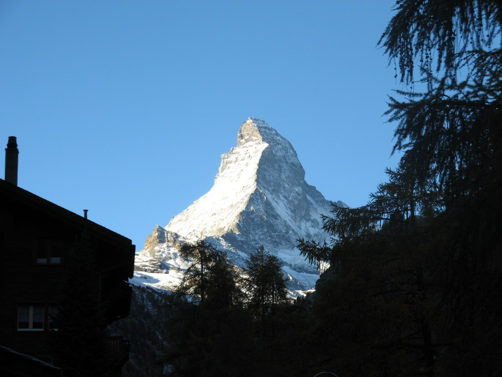 Matterhorn seen from Zermatt