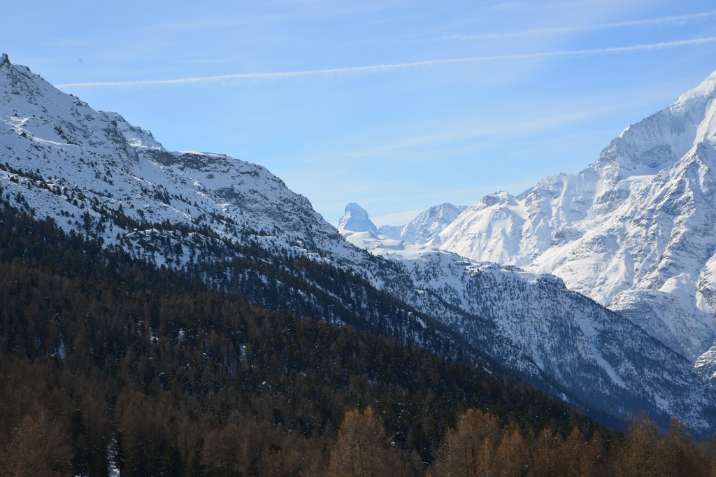 Matterhorn seen from Grächen