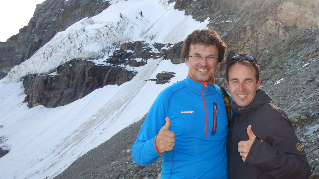 Mammut on the run with Viktor Röthlin