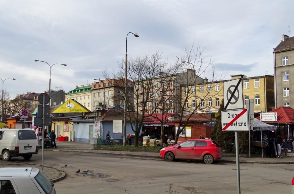 Plac na Stawach współcześnie